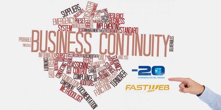 business continuity tra meno20 e fastweb